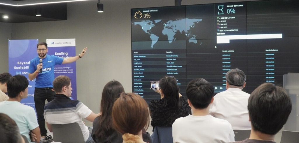 Marlin Protocol Korea Blockchain Week