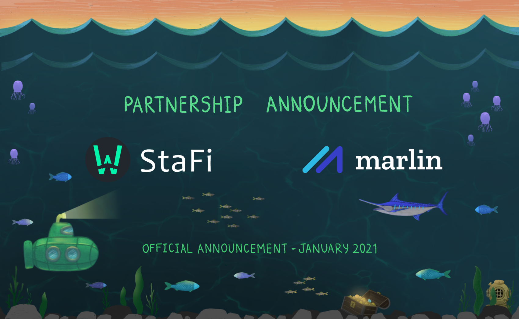 Marlin partners with StaFi to enable POND staking derivatives