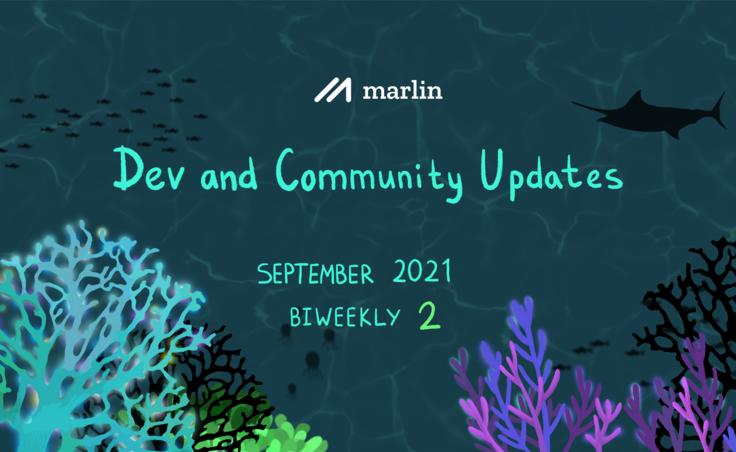 Marlin Biweekly 2 Dev & Community Updates – September 2021
